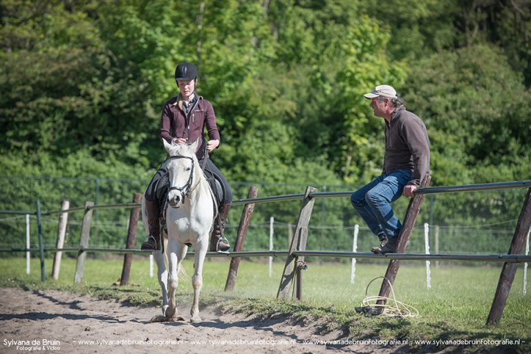 Michael Wanzenried Parelli instructeur met Desiree Horsemanship